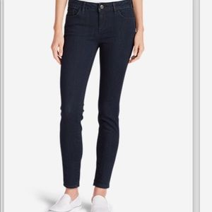 Eddie Bauer Slightly Curvey Skinny Jeans Dark 8T